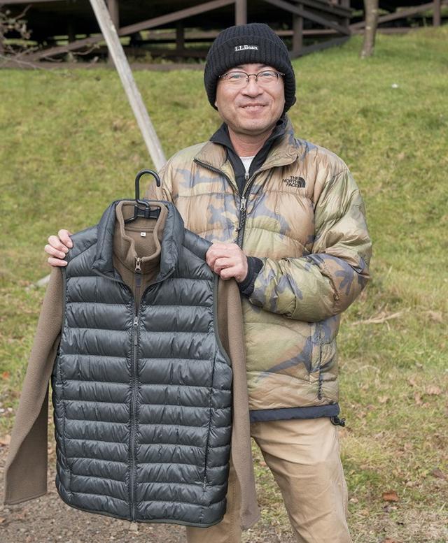 画像: 【体の防寒対策3】 ダウンは信頼性の高いものを! 外用、車内用の2着を用意
