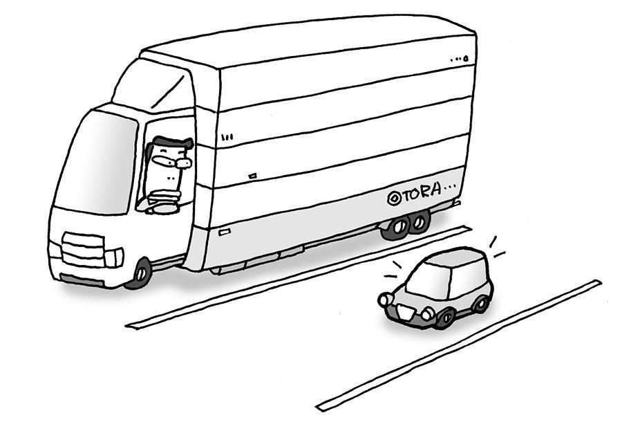 画像: 8 サイズ違い駐車はやめよう