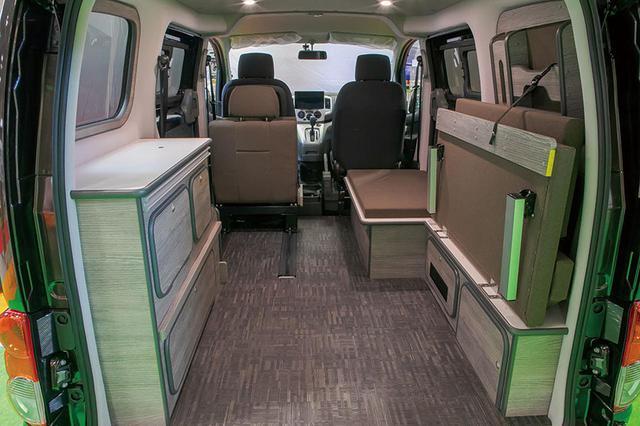 画像: 広い積載スペースにした状態。トランスポーターとしても使える。