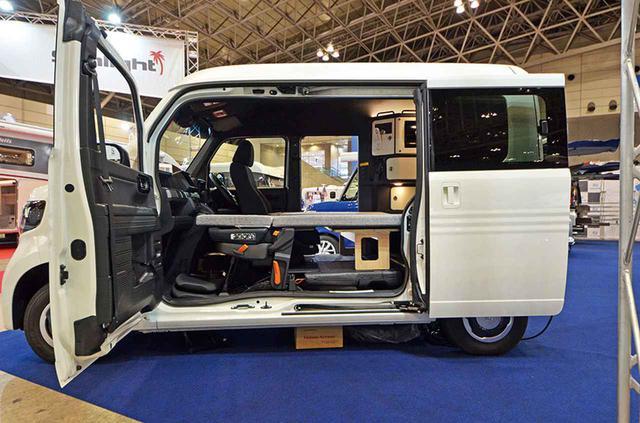 画像1: 美しい内装と高規格装備が魅力のN-VAN軽キャンピングカー