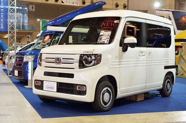 画像3: 美しい内装と高規格装備が魅力のN-VAN軽キャンピングカー