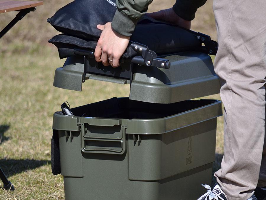 画像2: 収納ボックスがソファになる!キャンプで「ヨクミルヤーツ」が斬新!