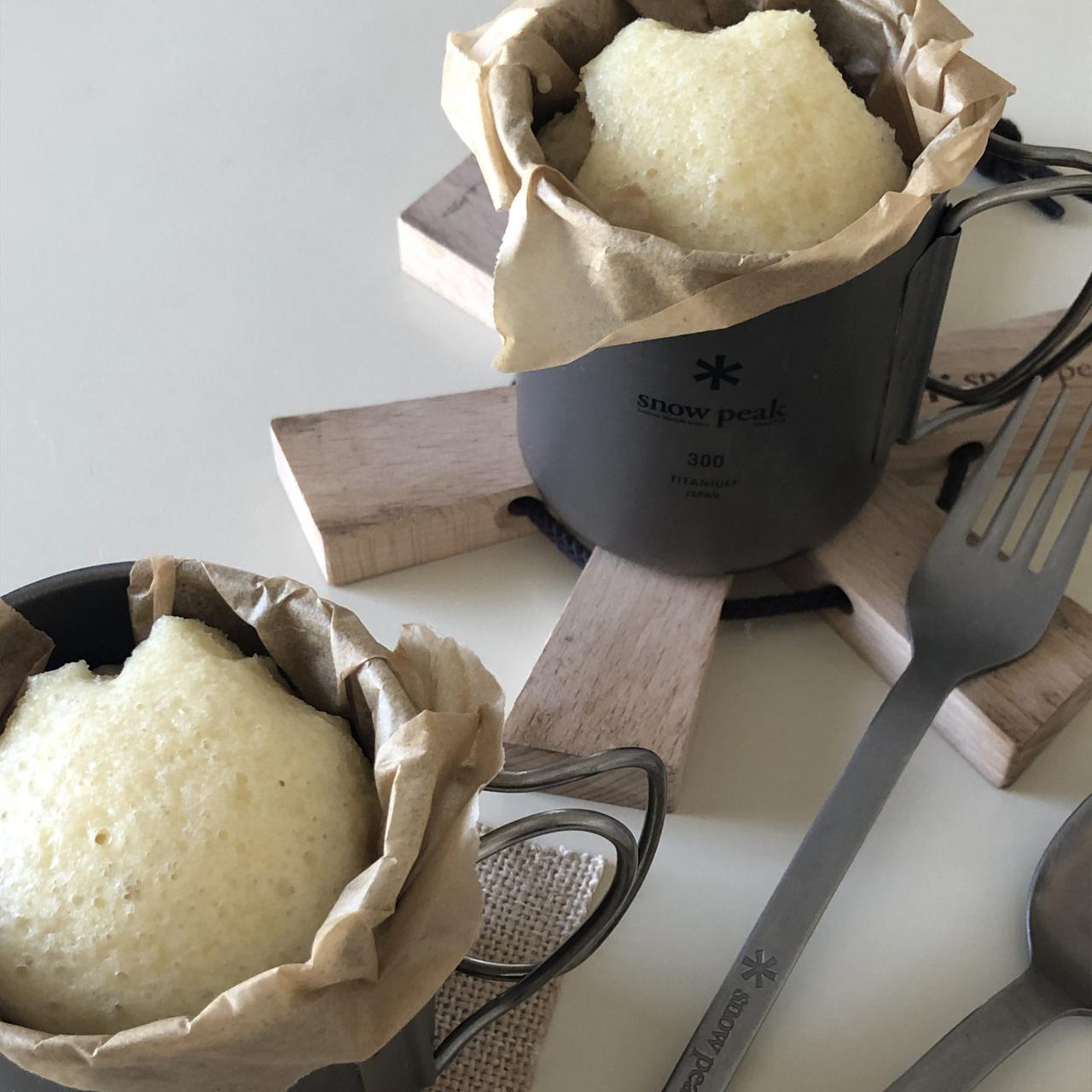 画像: チタンシングルマグ300でつくる、ふわふわ蒸しパン | THE SNOW PEAK WAY