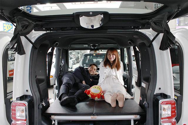 画像: ニコ泊!ニコニコレンタカー×車中泊!全国どこでも気軽に旅しよう!