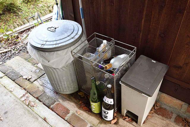 画像: ゴミの処理をしてくれるのも便利。