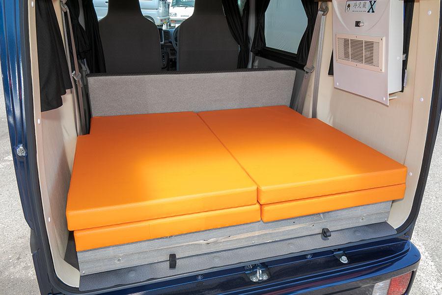 画像3: キャンピングカー普及に貢献する、快適就寝の軽キャンパー