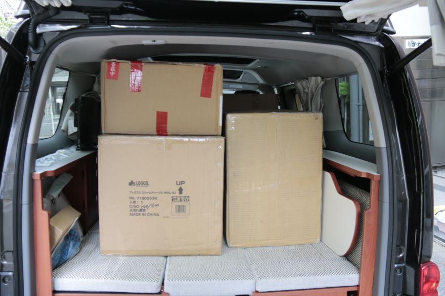 画像: カーネルの社有車キャネルの車内は撮影機材がいっぱい……。