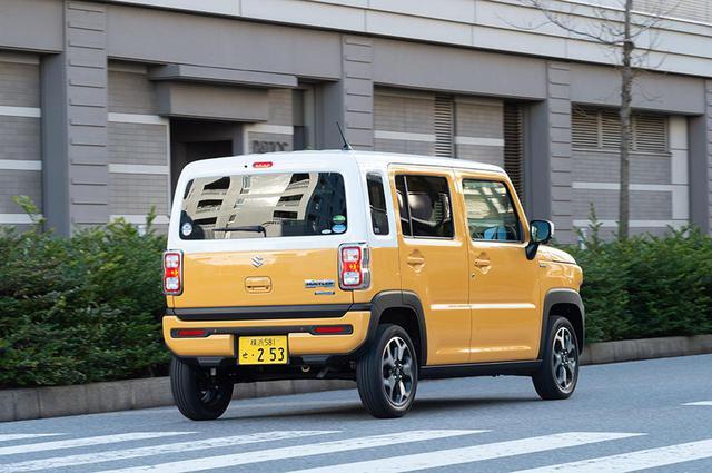 画像2: 新型ハスラーを車中泊専門誌『カーネル』目線でチェック!