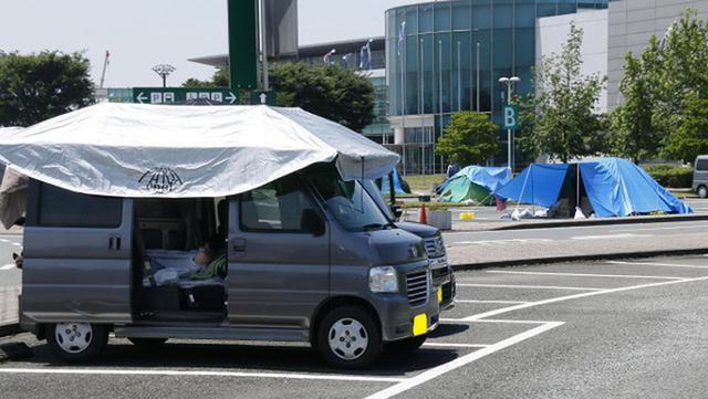 画像: 被災時の「車中泊避難の基本」シリーズ1:エコノミークラス症候群を予防する3つの鉄則