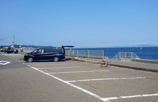 画像: 下浦海岸第3駐車場