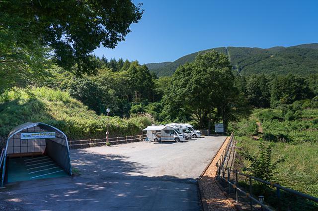 画像: RVパーク&ライダーハウス 美肌温泉 ゆーとろん(長野県)|車中泊はRVパーク|日本RV協会(JRVA)認定車中泊施設