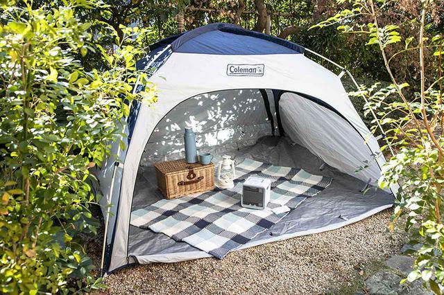 画像: 車中泊だけじゃなく、キャンプにも。