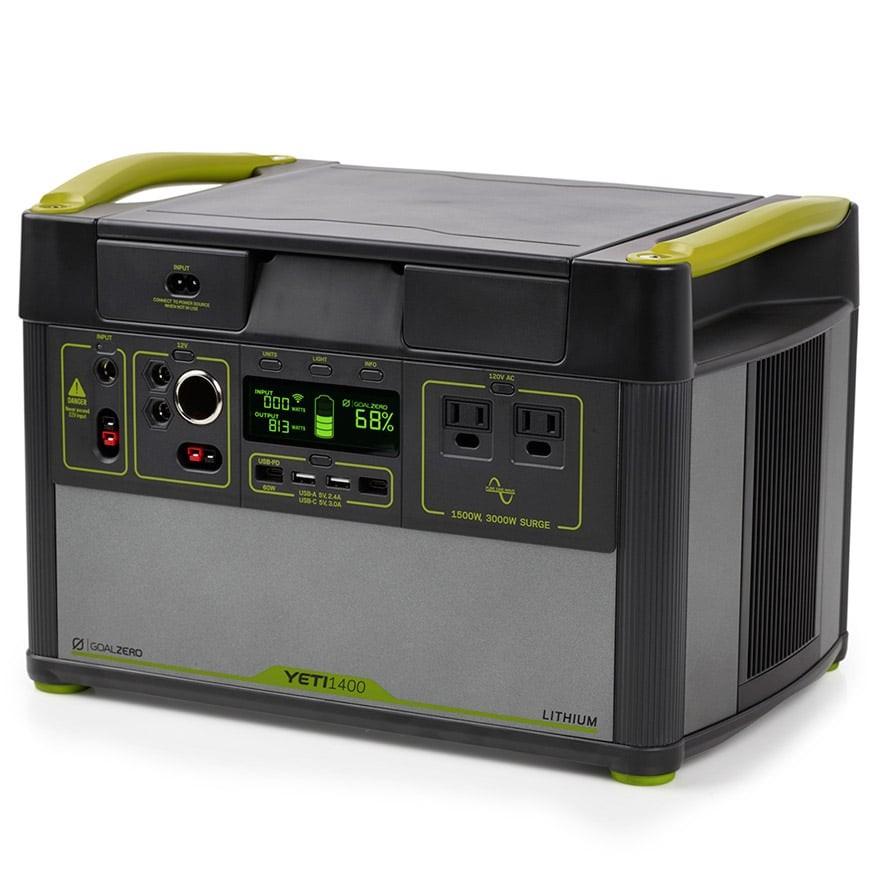 画像: Goal Zero「Yeti Lithium 1400 WiFi (120V) Power Station」製品情報