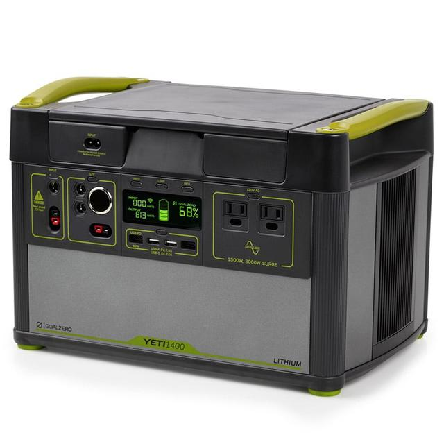 画像: Goal Zero「Yeti Lithium 1400 WiFi (120V) Power Station」製品情報