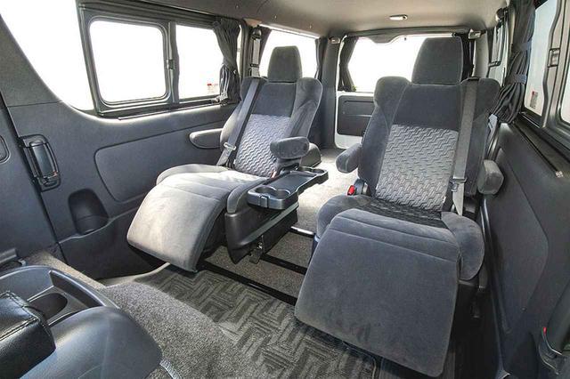 画像3: セカンドシートが超快適仕様に変貌