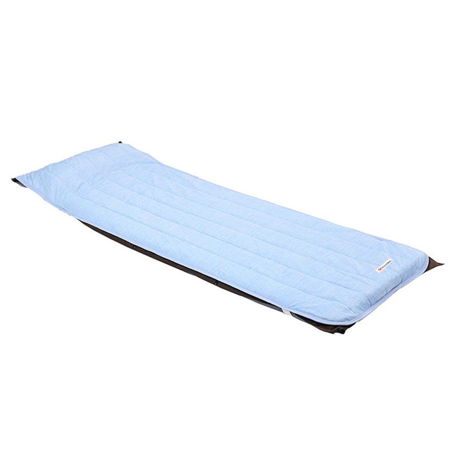 画像1: ハイランダー インフレーターマット用冷感敷きパッド シングル
