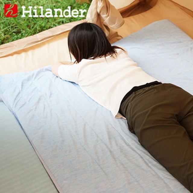 画像: Hilander(ハイランダー) インフレーターマット用 冷感敷きパッド N-02