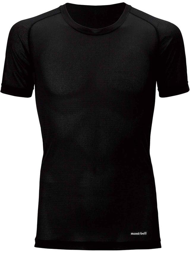 画像: モンベル ジオラインクール メッシュTシャツ Men'