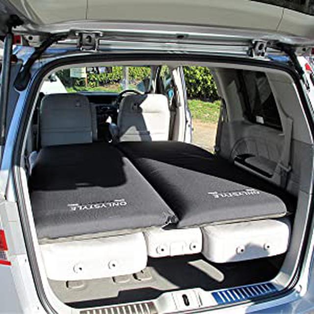 画像: Amazon.co.jp: オンリースタイル 車中泊専用マット 自然に膨らみ シートの段差をしっかり解消【1枚】 (0094): 車&バイク