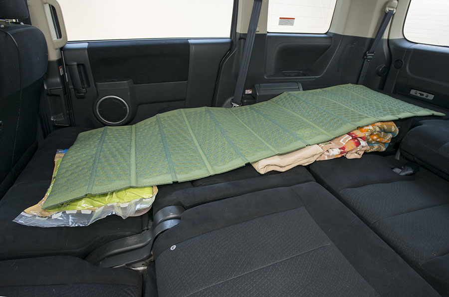 画像3: シート就寝の場合
