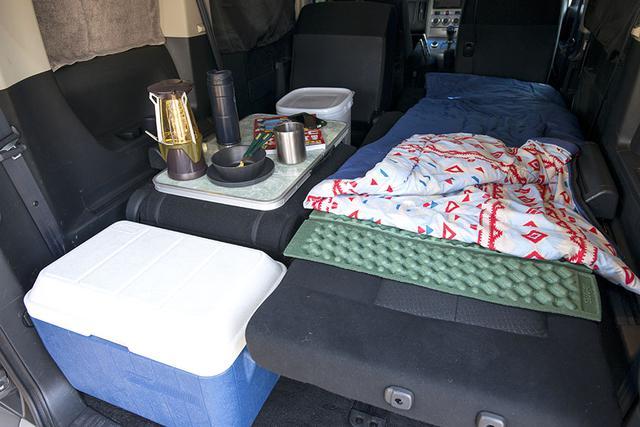 画像: 車中泊三種の神器