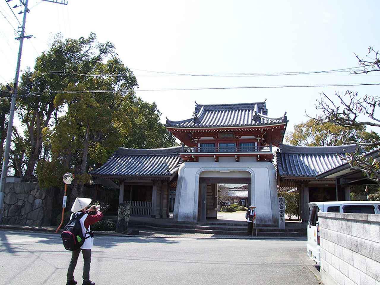 画像: 6番札所 安楽寺。