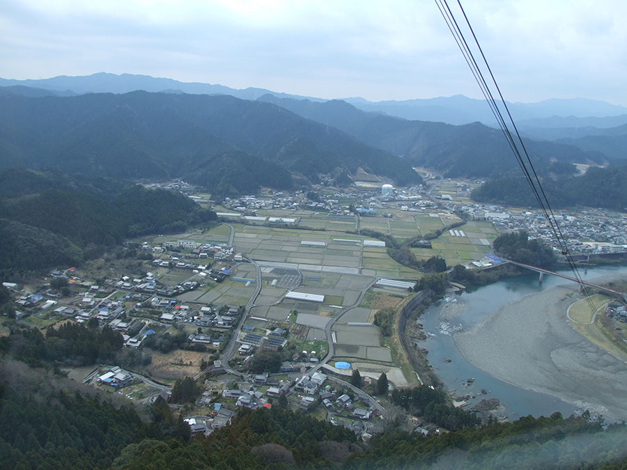 画像: 21番札所 太龍寺/西日本最長の全長2775mのロープウェイでらくらく。