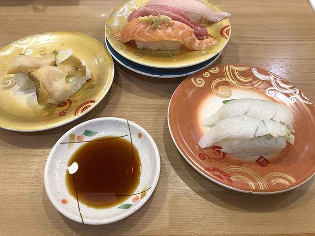 画像: 札幌駅近くの回転寿司トリトン。