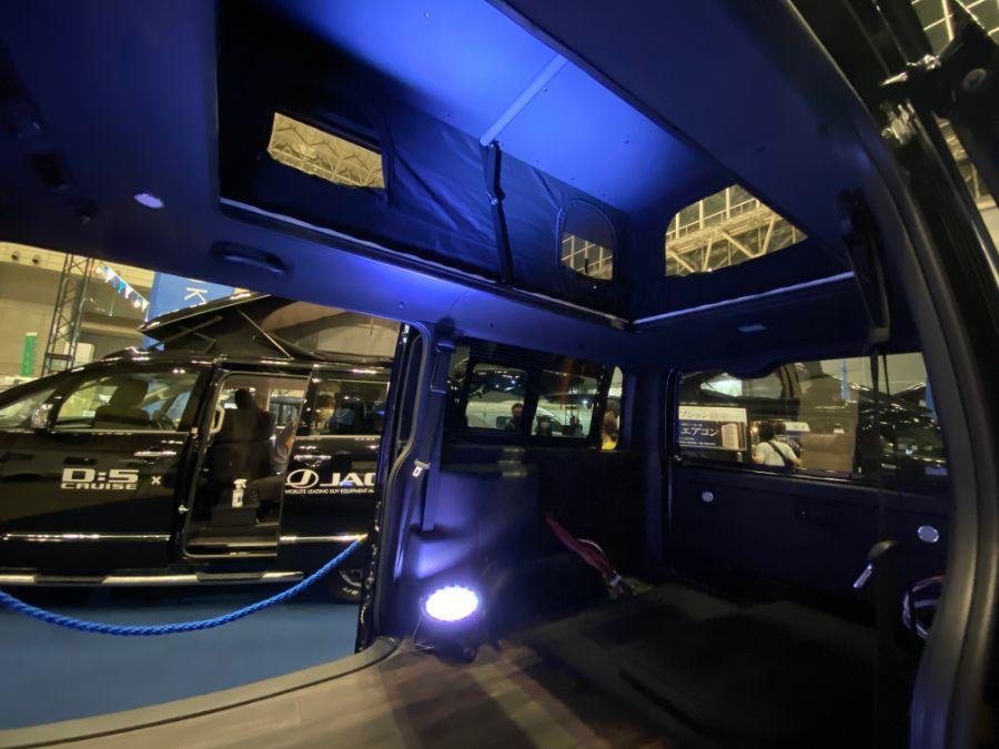 画像3: ケイワークス/ハイエースナローボディオプション「エレベーター式ポップアップルーフ」  水平に持ち上がって寝室広々!