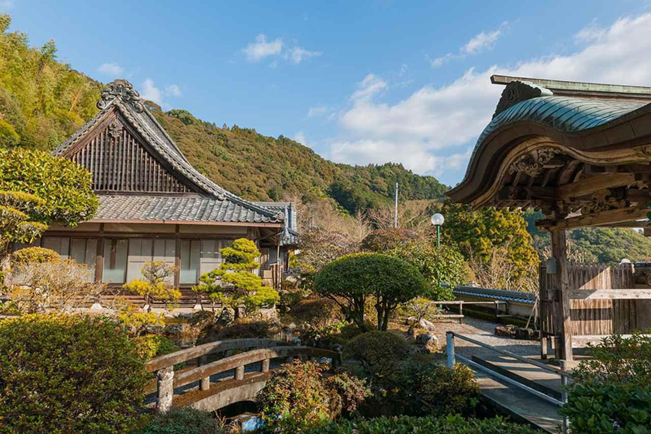 画像: 35番札所 清滝寺。