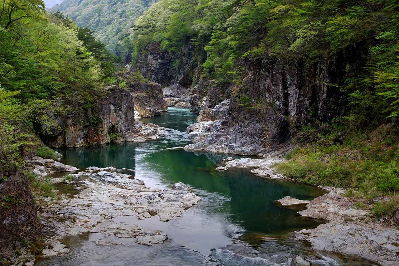 画像: 龍王峡 - 日光国立公園