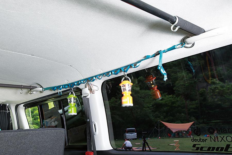 画像: 【壁】ハンギングチェーンで確実に吊るす!