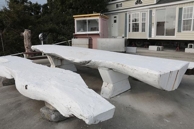 画像4: 屋外にも快適設備が完備されている