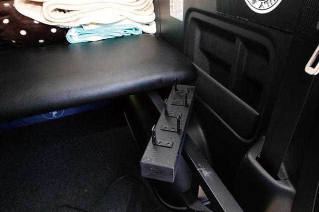 画像2: 車中泊旅が楽しく、快適になる車内空間!