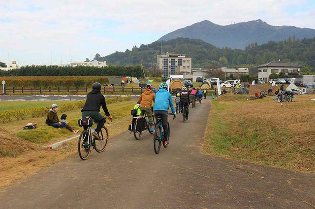 画像3: 旅好きキャンパーとサイクリストがつくばに集結!