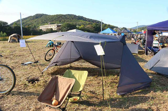 画像2: 自転車旅をサポートする、軽くてタフなキャンプ道具も続々