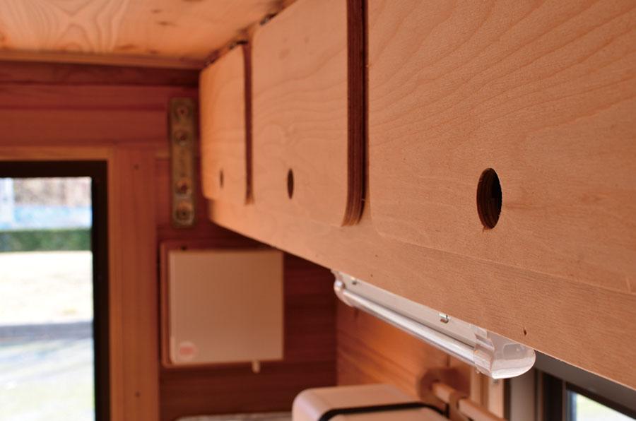 画像1: 収納スペースと安全を確保