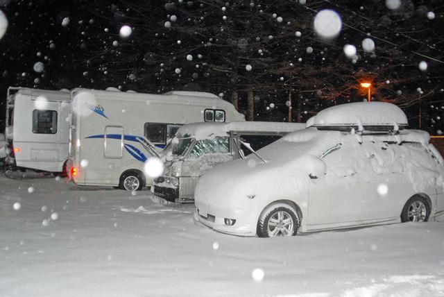 画像2: 動けるうちに移動するか、翌日の除雪を待つ