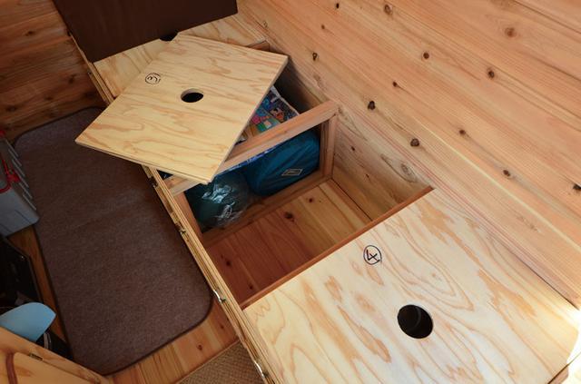 画像2: 収納スペースと安全を確保