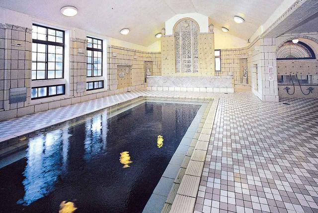 画像: 【上諏訪温泉】国指定の重要文化財、片倉館の「千人風呂」