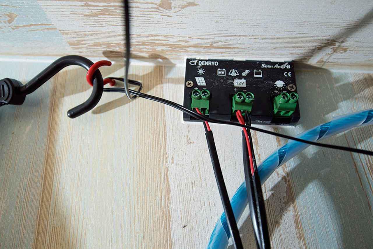 画像2: ルーフには定番アイテムのソーラーパネルを設置!