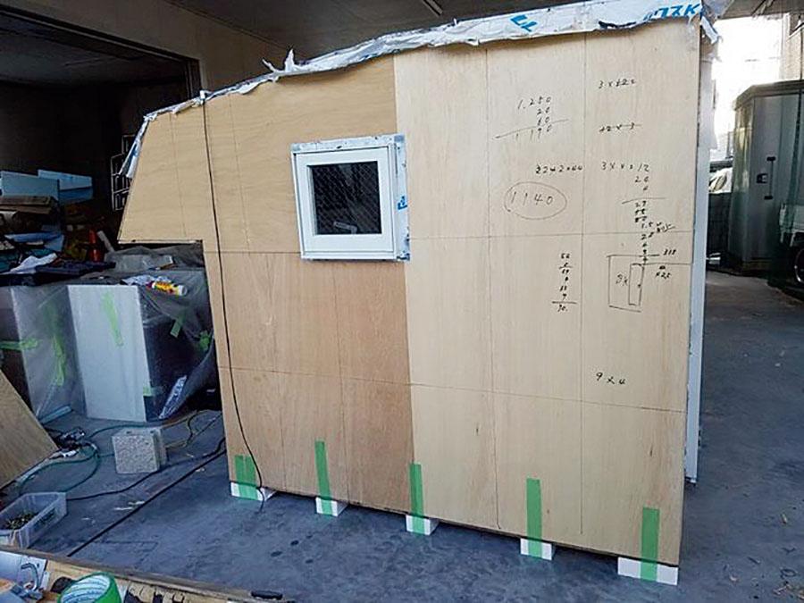 画像2: 寒さ、暑さ対策も完璧! 設置・取り外しはフォークリフトでお手軽!