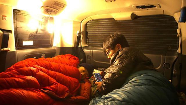 画像: 車中泊避難で重要なのは、自家用車で誰が、何人、寝られるか?