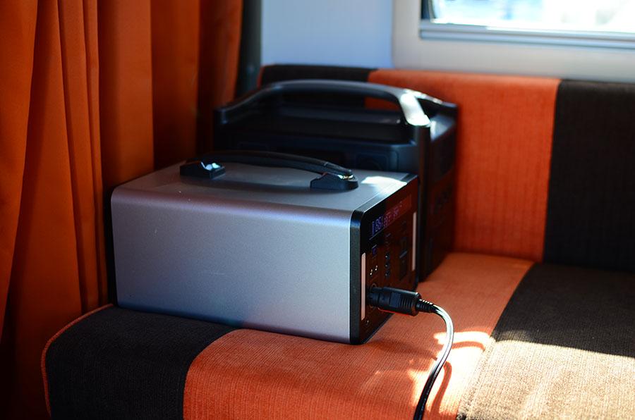 画像2: ポータブル電源で快適な環境に