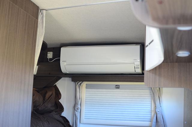 画像2: 強力な電力システムが快適な車中泊空間をつくり出す