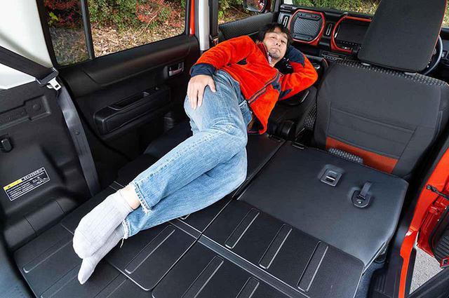 画像: 第10位 軽自動車・新型ハスラーは車中泊に適してる? 車中泊専門誌がチェック!