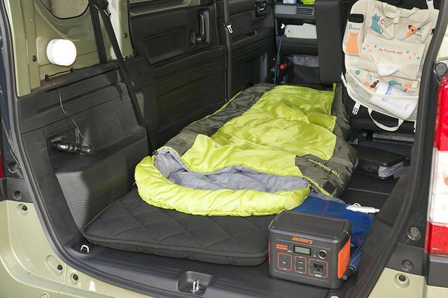 画像10: 小田原ドラゴン先生の愛車・N-VANの車中泊装備は!?