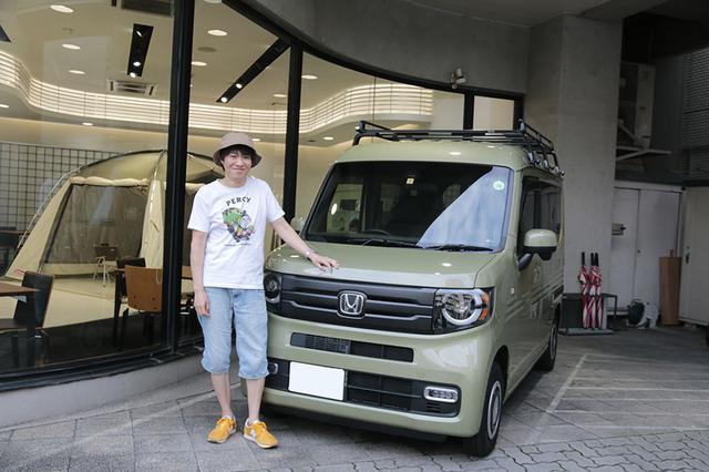 画像3: 小田原ドラゴン先生の愛車・N-VANの車中泊装備は!?