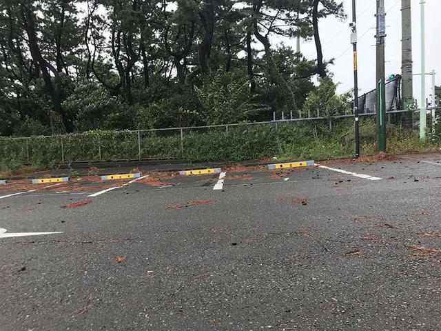 画像: 駐車する場所は水平か?