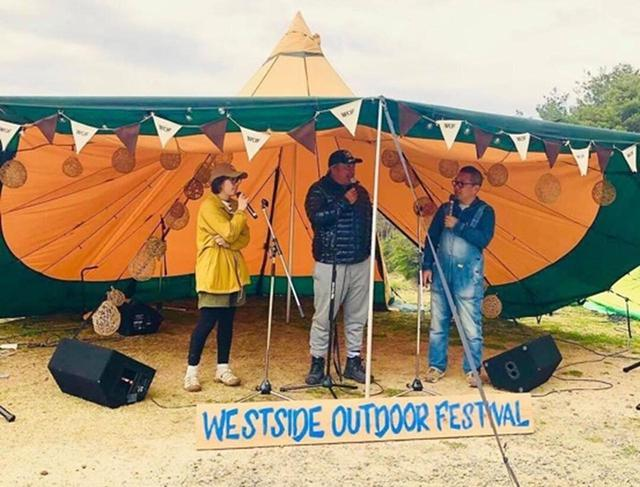 画像: WestsideOutdoorFestivalの様子。